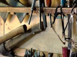 Outils dans l'atelier