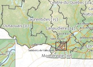 Régions sociosanitaires du Québec