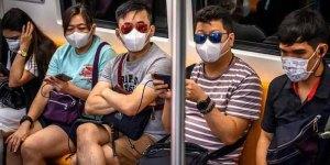 Le Chinois inquiétés par le coronavirus