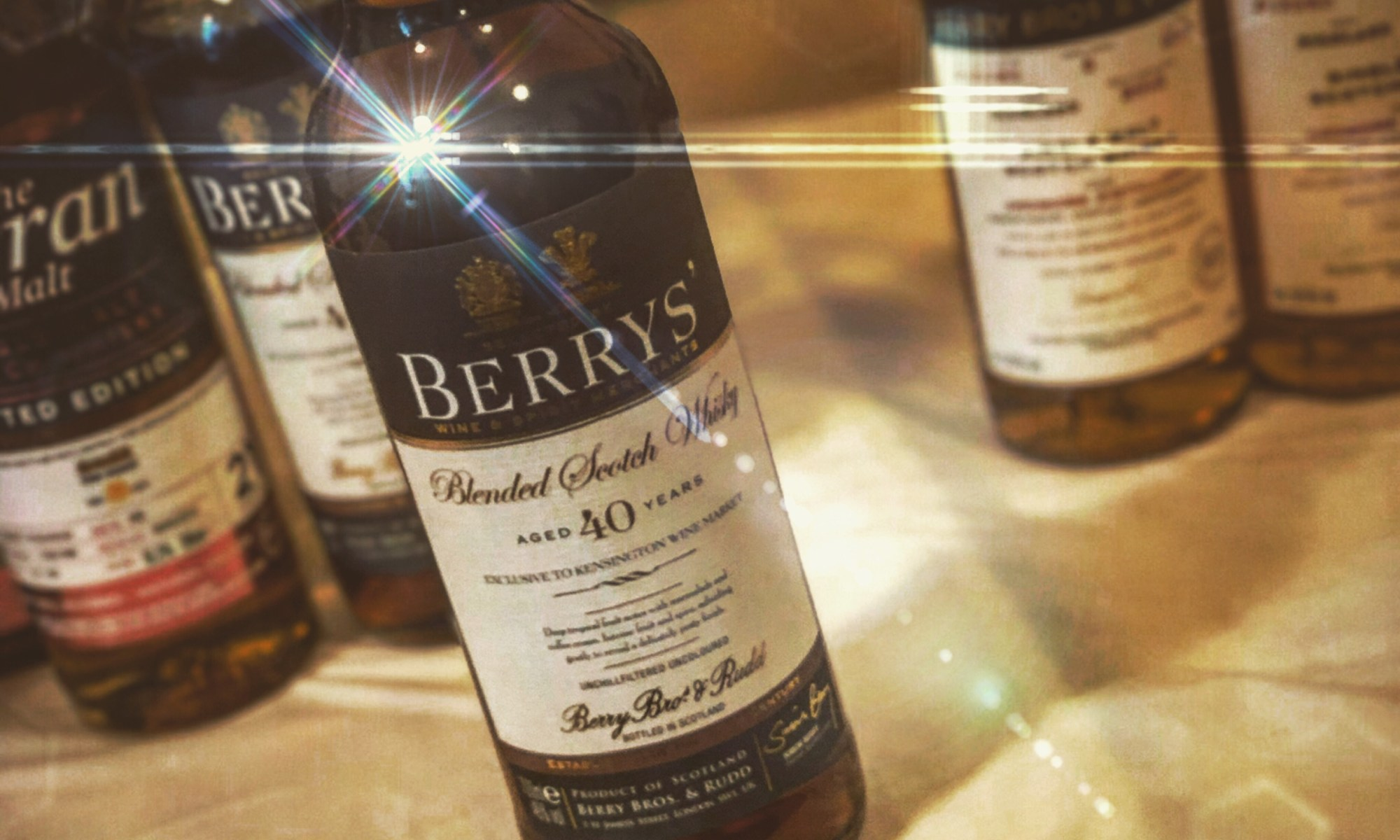 Berry Bros & Rudd Blended Scotch Whiskey 40 years
