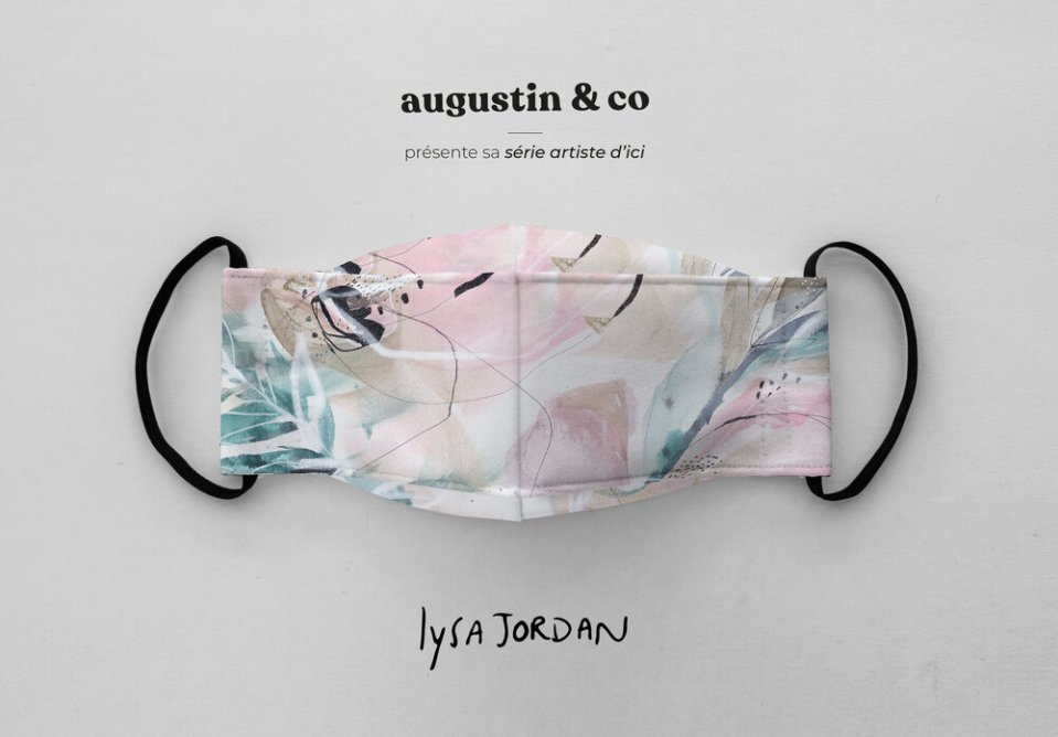 masque augustine & Co look