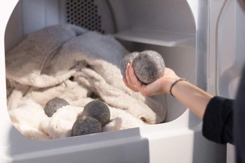 Balles de laine pour la sécheuse