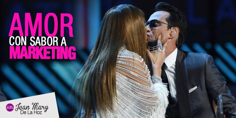 El Marketing detrás del beso de Marc Anthony y JLo