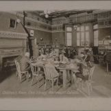 Children's room, Civic Library, Westmount, Canada