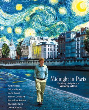 Poster de la pelicula Midnight in Paris