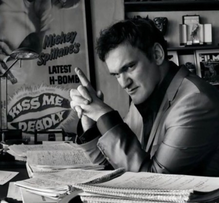 Quentin Tarantino. Foto: Mark Seliger.