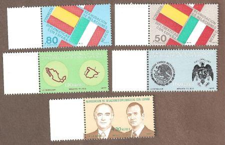 rel-diplomaticas-mexico-espana-bandera-escudo-mapas-1977-4144-MLM4896349643_082013-F