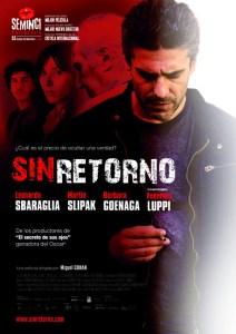 """El guión de """"Sin retorno"""" fue desarrollado en el curso."""