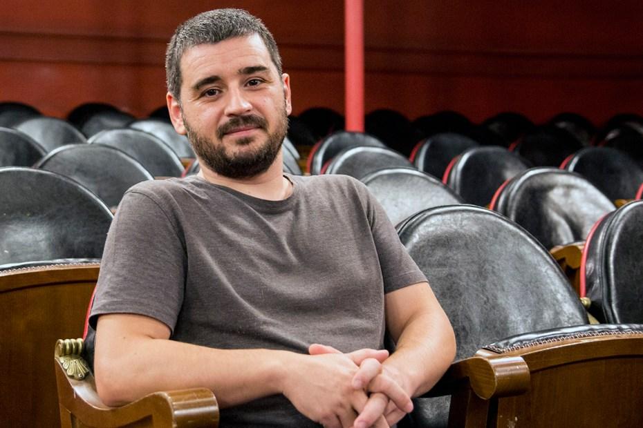 El guionista Natxo López. Foto: Héctor Beltrán.