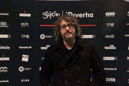 El cineasta Chema Veiga en el Festival de Cine de Gijón