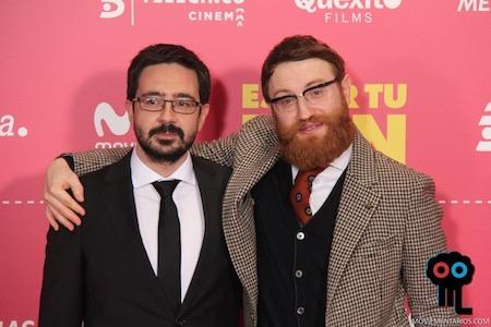 Los guionistas Josep Gatell y Manuel Burque