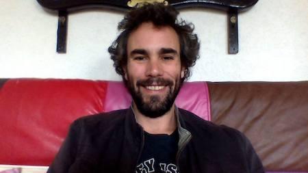 El guionista Aarón Romera