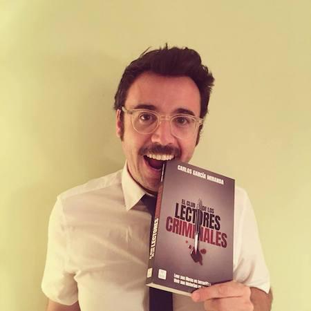 El guionista Carlos García Miranda