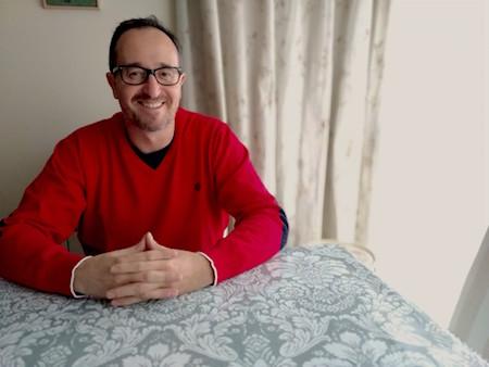 El guionista Juan Ramón Ruiz de Somavía