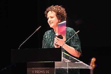 La guionista María Mínguez