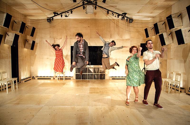 Obra de teatro Las canciones, de Pablo Messiez