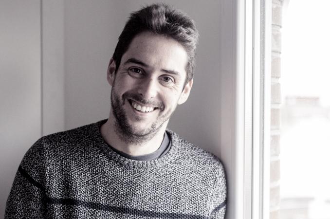 El guionista Raúl Díaz. Foto de Sergio Barrejón.