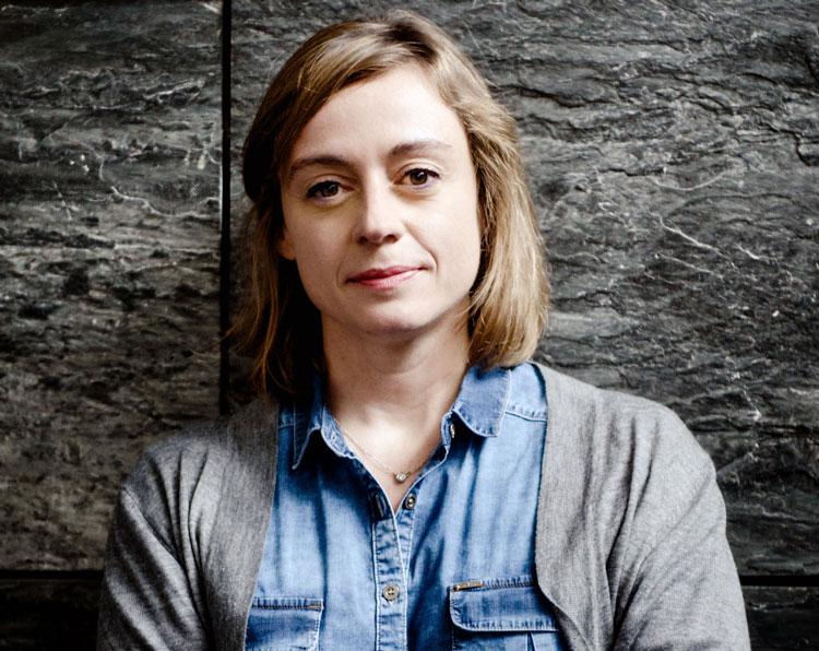 La guionista Ángela Armero. Foto @ Ana Álvarez Prada