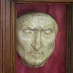 Masca mortuara a lui Dante Aligheri