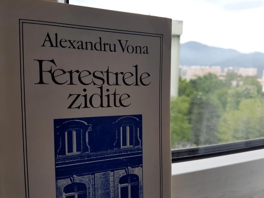 """""""FERESTRELE ZIDITE"""" ale lui ALEXANDRU VONA m-au pregătit pentru """"ULISELE"""" lui JOYCE"""