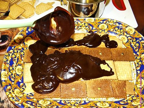 tort de biscuiti