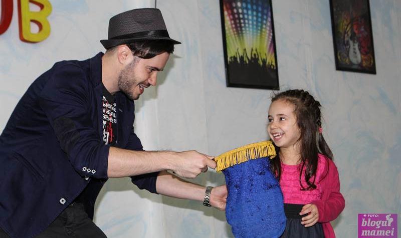 teo magic show, magician, sarida kids club, magie