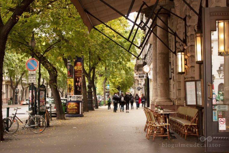 gratis în Budapesta-bulevardul andrassy