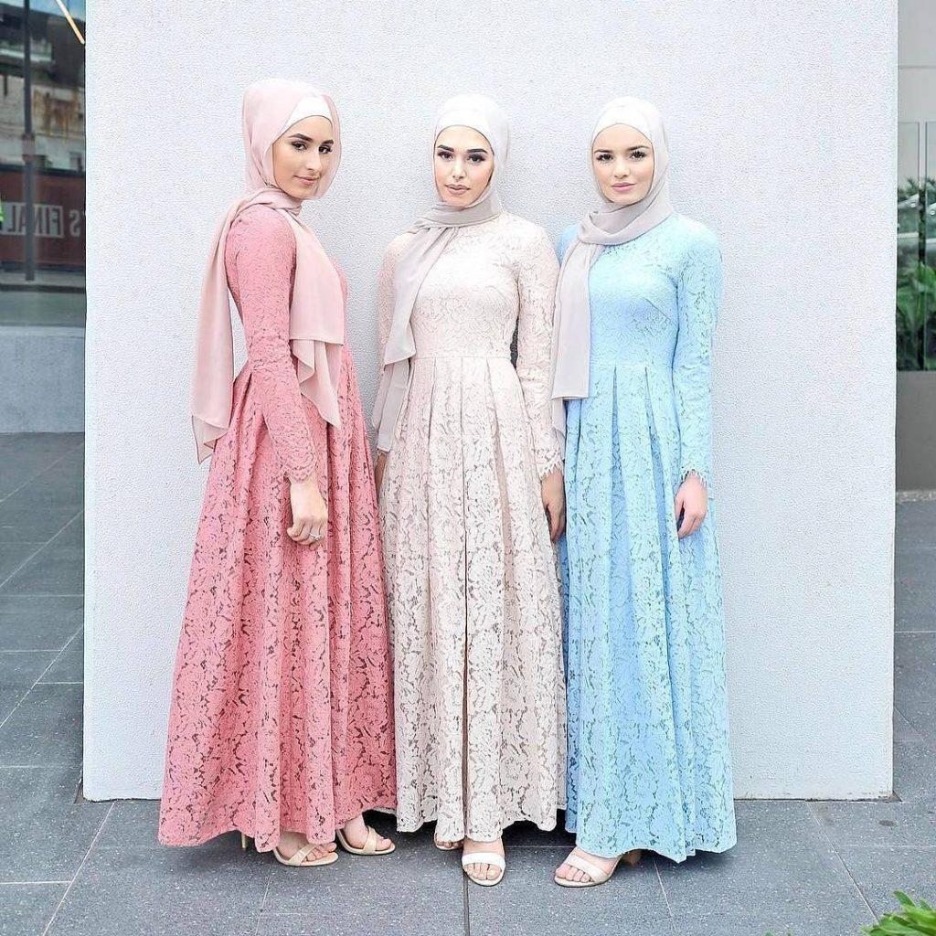 Kumpulan Contoh Gambar Sketsa Baju Muslim Informasi Masa Kini