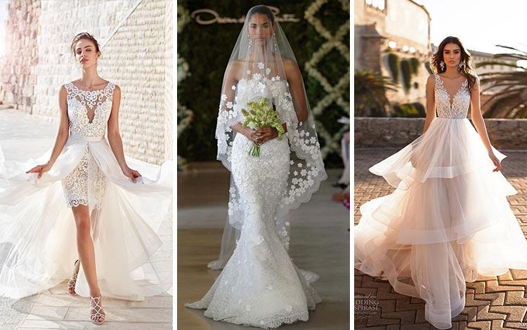 Berbagai Inspirasi Wedding Dress atau Gaun Pernikahan Yang Terlihat Anggun Dan Cantik