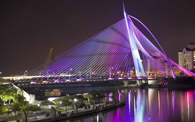 Jembatan Terindah Di Dunia - Jembatan Seri Wawasan