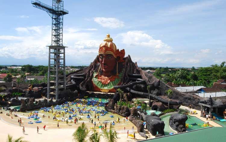 Taman Bermain Terbesar Di Indonesia - Pandawa Water World