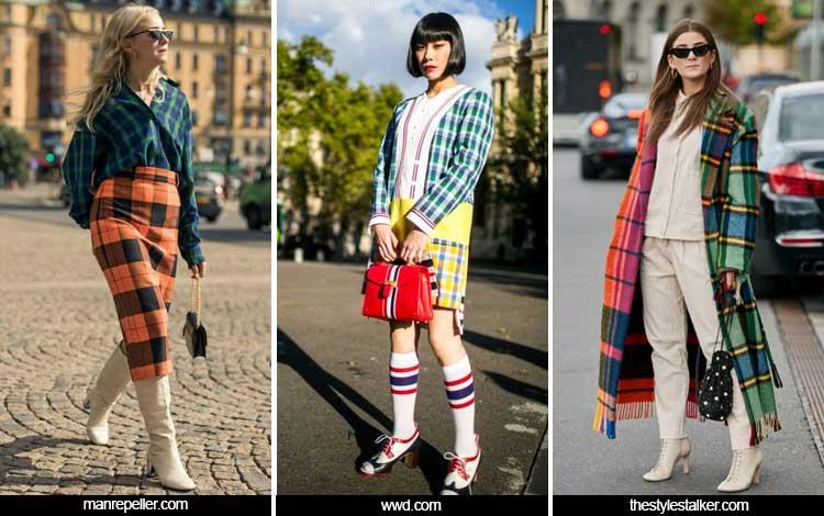 Trend Fashion Wanita 2019 - Check print