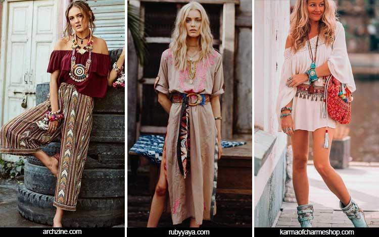 Trend Fashion Wanita 2019 - Hippie/Bohemian style