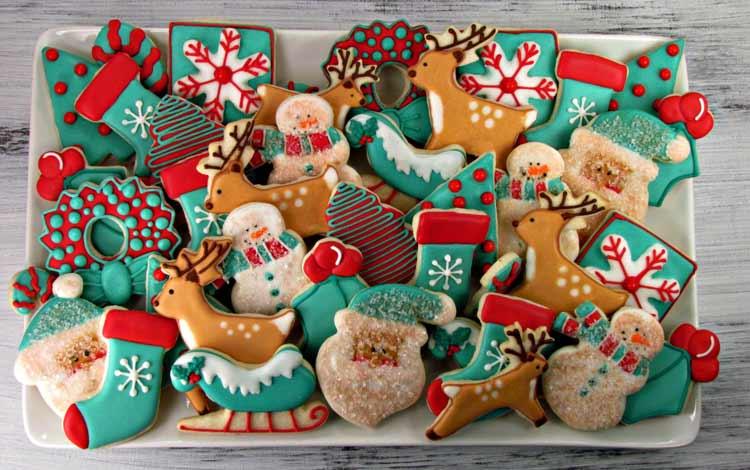 Makanan Dan Minuman Yang Identik Dengan Perayaan Natal - Christmas Cookies