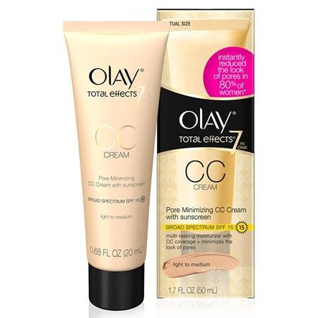 Produk CC Cream Yang Bagus - Olay Total Effects 7 in One Pore Minimizing CC Cream