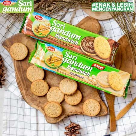 Merek Biskuit Yang Bagus Untuk Diet - Roma Sari Gandum