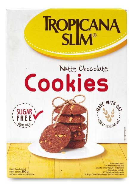 Merek Biskuit Yang Bagus Untuk Diet - Tropicana Slim Sugar Free Cookies