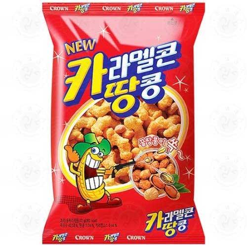 Snack Korea Yang Ada Di Indonesia - Caramel Corns & Peanuts Snack