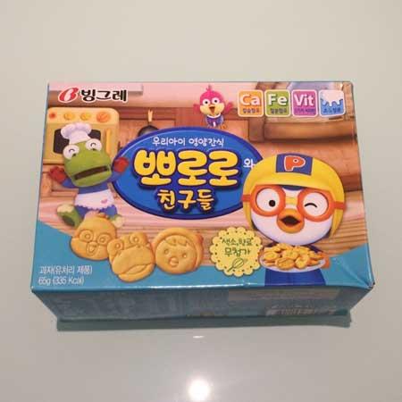 Snack Korea Yang Ada Di Indonesia - Pororo Biskuit