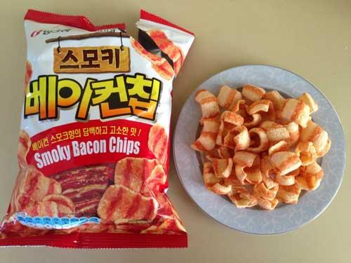 Snack Korea Yang Ada Di Indonesia - Smoky Bacon Chips