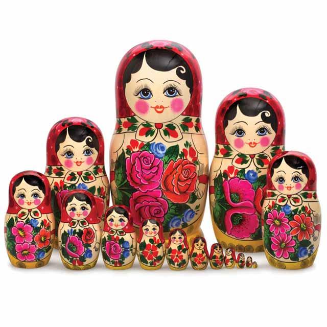 Aneka Jenis Boneka Di Dunia Dengan Tampilan Unik Dan Menarik - Matryoshka