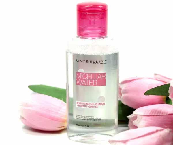 Rekomendasi Micellar Water Untuk Kulit Berjerawat - Maybelline Micellar Water