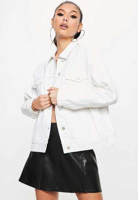 Outfit Of The Week Tampil Chic Ala Fashion Blogger Dengan Short Pant - Jacket denim putih