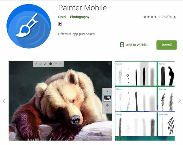 Daftar-Aplikasi-Menggambar-Terbaik-di-Android-Painter-Mobile