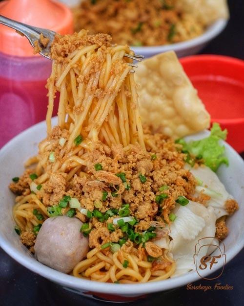 Mie Ayam Terenak Di Surabaya - Mie Ayam Ratu