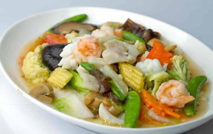 Daftar Makanan Khas China Terlezat - Cap Cay