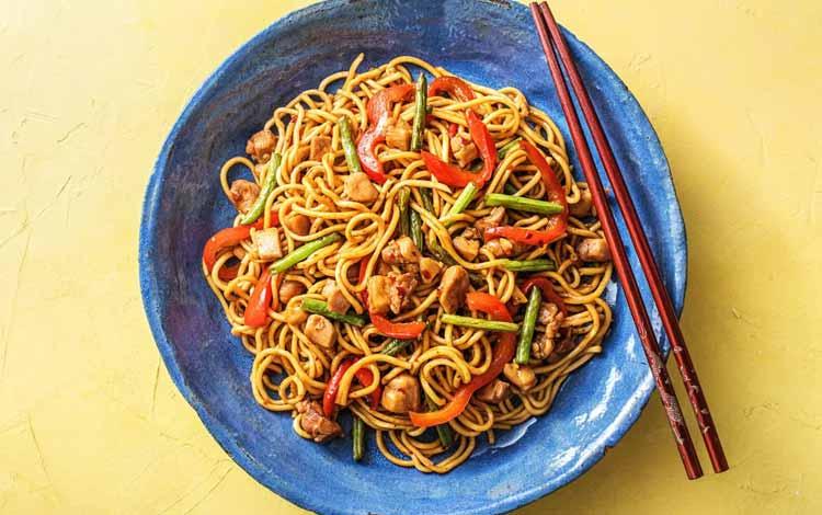 Daftar Makanan Khas China Terlezat - Chow Mein