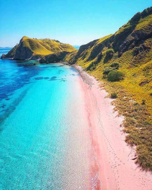 Pantai Indonesia Yang Tak Kalah Indah Dari Maldives - Pantai Pink