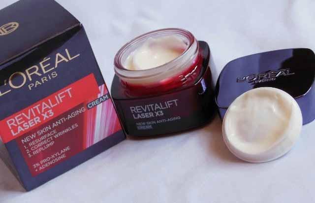 Produk anti aging terbaik - L'Oreal Paris Revitalift Laser X3 Anti Aging Day Cream