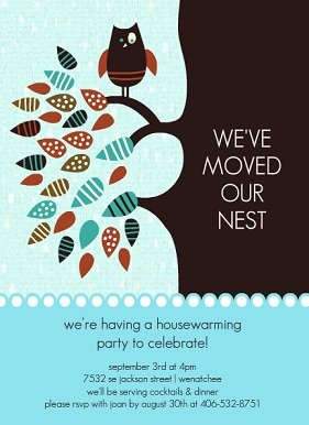 Housewarming Invitations And Moving Announcements From